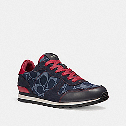 COACH FG2122 - C142 RUNNER DENIM/TRUE RED/MIDNIGHT NAVY