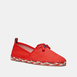 COACH FG2140 Madison Espadrille ORANGE RED