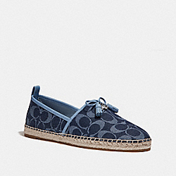 COACH FG2145 Madison Espadrille DENIM/POOL