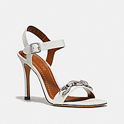 COACH FG2420 Bonnie Sandal OFF WHITE