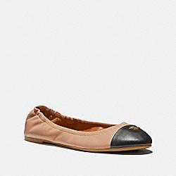 COACH FG2542 Bonnie Ballet NUDE PINK/BLACK