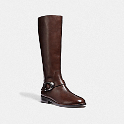 COACH FG2802 Brynn Riding Boot TOBACCO