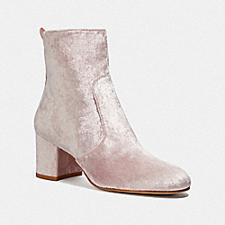 COACH FG2821 Juliet Ankle Bootie BLUSH