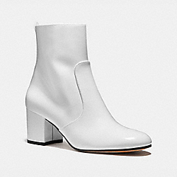 COACH FG2823 Juliet Ankle Bootie WHITE