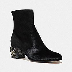 COACH FG2966 Juliet Ankle Bootie BLACK