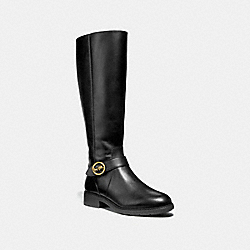 COACH FG3096 Rory Riding Boot BLACK