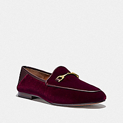 COACH FG3112 Haley Loafer WINE
