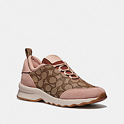 COACH FG3153 C147 Runner KHAKI/BLUSH