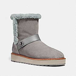 COACH FG3155 Illia Boot HEATHER GREY