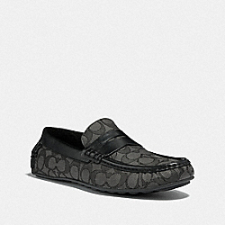 COACH FG3211 Slipper CHARCOAL/BLACK