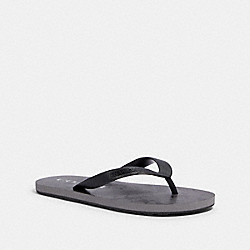 ZAK FLIP FLOP - FG3434 - BLACK/COAL