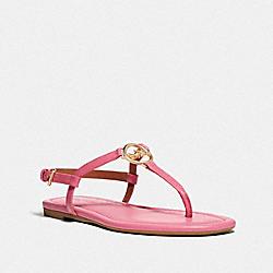 COACH FG3439 Jazmin Sandal PINK RUBY