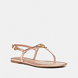 COACH FG3441 Jazmin Sandal ROSE GOLD