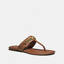 COACH FG3443 Jaclyn Sandal SADDLE