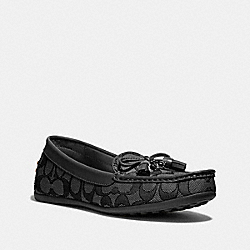 COACH FG3450 Greenwich Loafer BLACK SMOKE/BLACK
