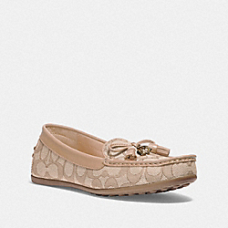 COACH FG3450 Greenwich Loafer LIGHT KHAKI