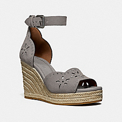 COACH FG3464 Kelsi Wedge HEATHER GREY