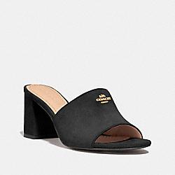 COACH FG3466 Rosa Sandal BLACK