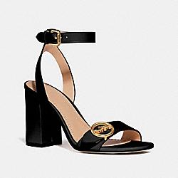 COACH FG3484 Maddi Sandal BLACK