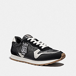 KEITH HARING C142 RUNNER - FG3500 - CHARCOAL/CHALK