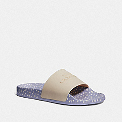 COACH FG3582 Uli Sport Slide CHALK/CORNFLOWER