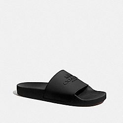 SLIDE WITH COACH - FG3708 - BLACK