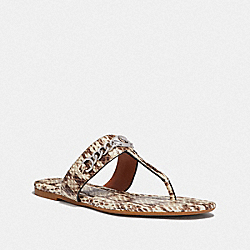 COACH FG3816 Jaclyn Sandal NATURAL