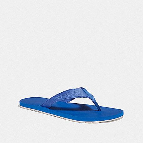 COACH FG3845 COACH FLIP FLOP VINTAGE BLUE