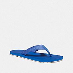 COACH FG3845 - COACH FLIP FLOP VINTAGE BLUE
