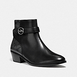 DEBI BOOTIE - FG4224 - BLACK/COAL