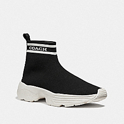 COACH FG4264 C203 Sock Sneaker BLACK