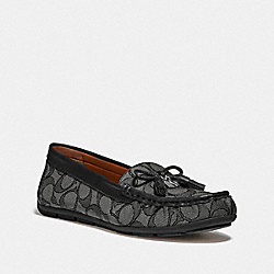 COACH FG4295 Moira Loafer BLACK/COAL