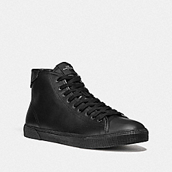 C207 HIGH TOP SNEAKER - FG4398 - BLACK