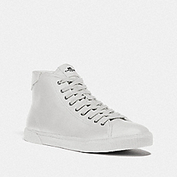 C207 HIGH TOP SNEAKER - FG4398 - WHITE