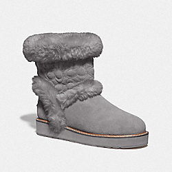 COACH FG4597 Izzie Boot HEATHER GREY