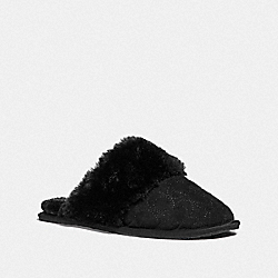 COACH FG4608 Ziva Slipper BLACK