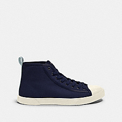 COACH FG4672 C207 High Top Sneaker With Coach Patch CADET