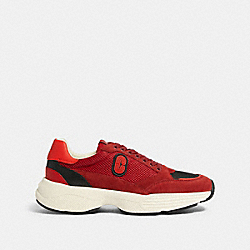 COACH FG4684 C152 Tech Runner With Coach Patch SPORT RED