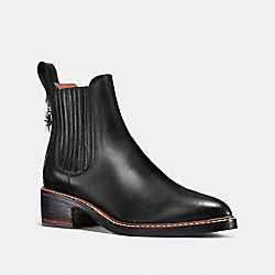 COACH G1190 Bowery Chelsea Boot BLACK