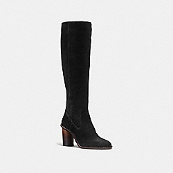 COACH G1357 Ombre Heel Boot BLACK