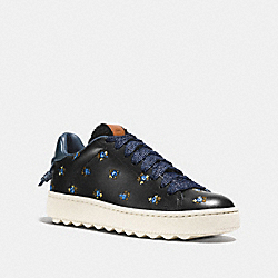 COACH G1366 C101 Low Top Sneaker BLACK