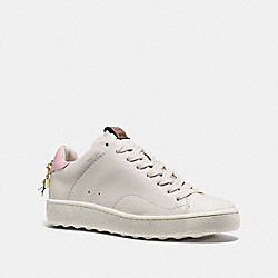 COACH G1903 - C101 LOW TOP SNEAKER WHITE/PETAL