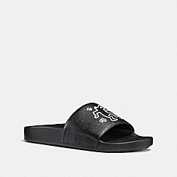 COACH G2239 - COACH X KEITH HARING SLIDE BLACK