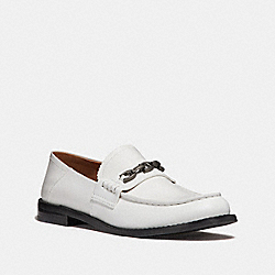 COACH G2359 Putnam Loafer WHITE