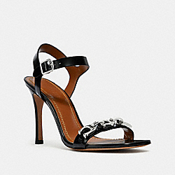 COACH G2420 Bonnie Sandal BLACK