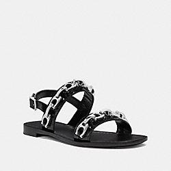 COACH G2423 Eden Sandal BLACK