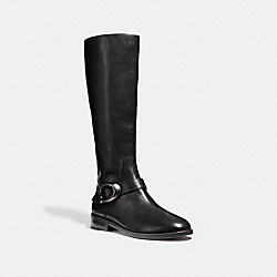 BRYNN RIDING BOOT - BLACK - COACH G2802