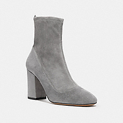 COACH G2826 - GIANA STRETCH BOOTIE HEATHER GREY