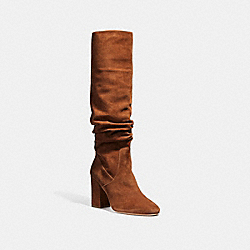 COACH G2833 - GRAHAM SLOUCHY BOOT COGNAC