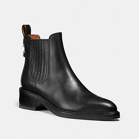 COACH G2895 BOWERY CHELSEA BOOTIE BLACK